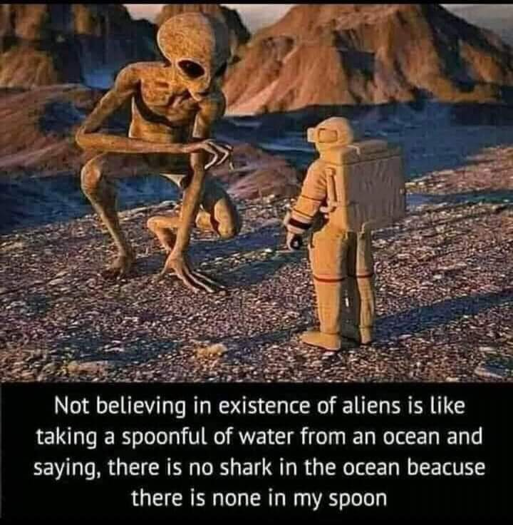 As many grains of sands on earth as there are stars in the universe - meme