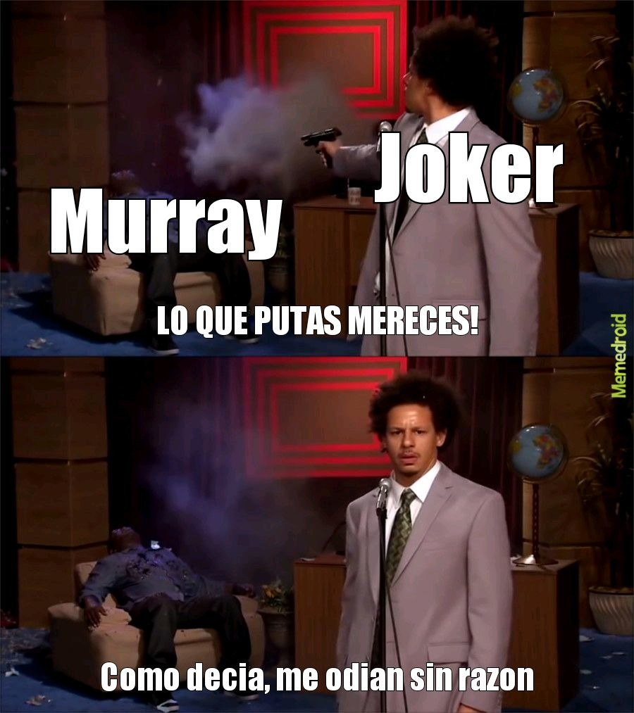 Perdón si mis memes son malos.