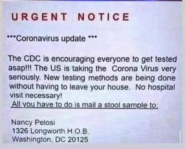 URGENT CDC UPDATE - meme
