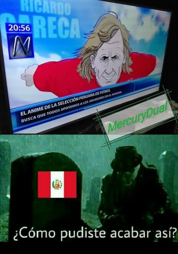 Y yo que soy de Perú. - meme