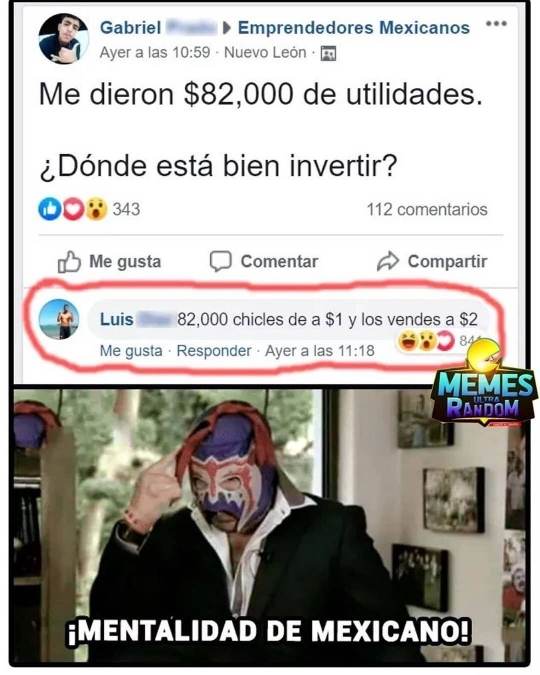 Mucho dinero - meme