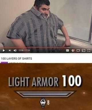 Light Armor - meme