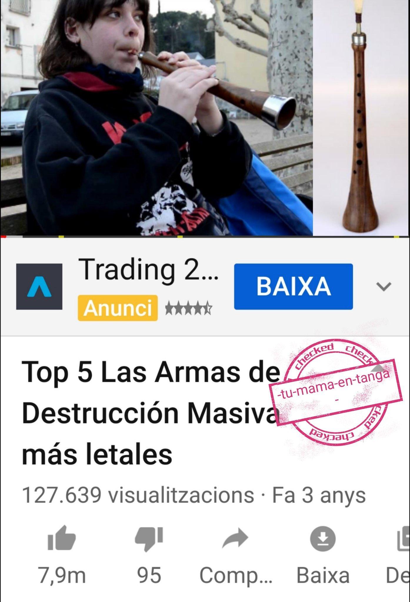 Tengo el movil por detecto en catalan xd - meme