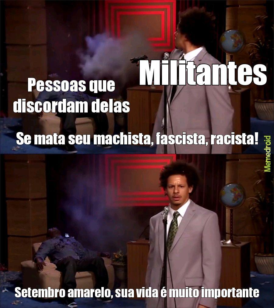 Militantes - meme
