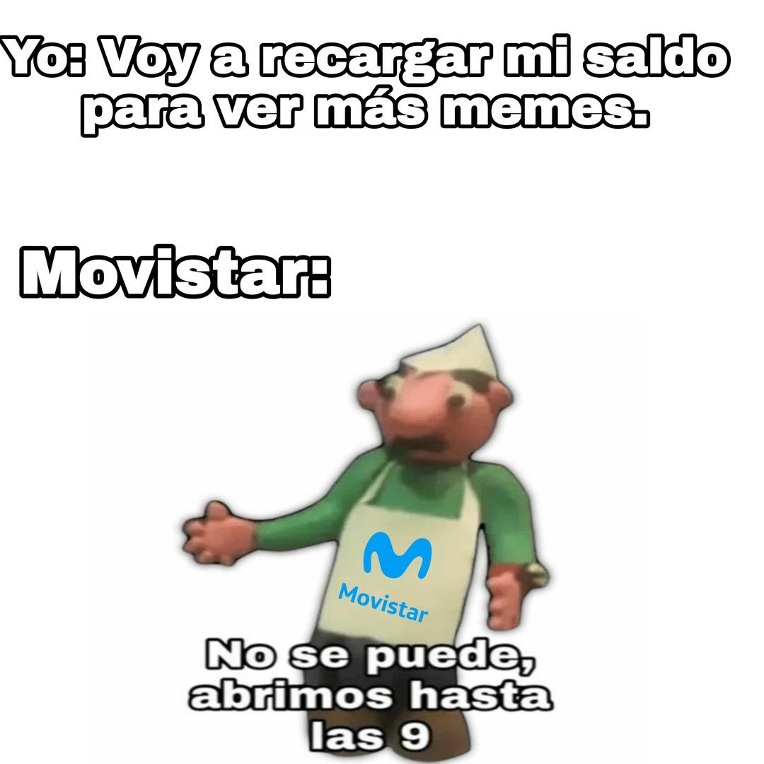 Movistar M0MON - meme