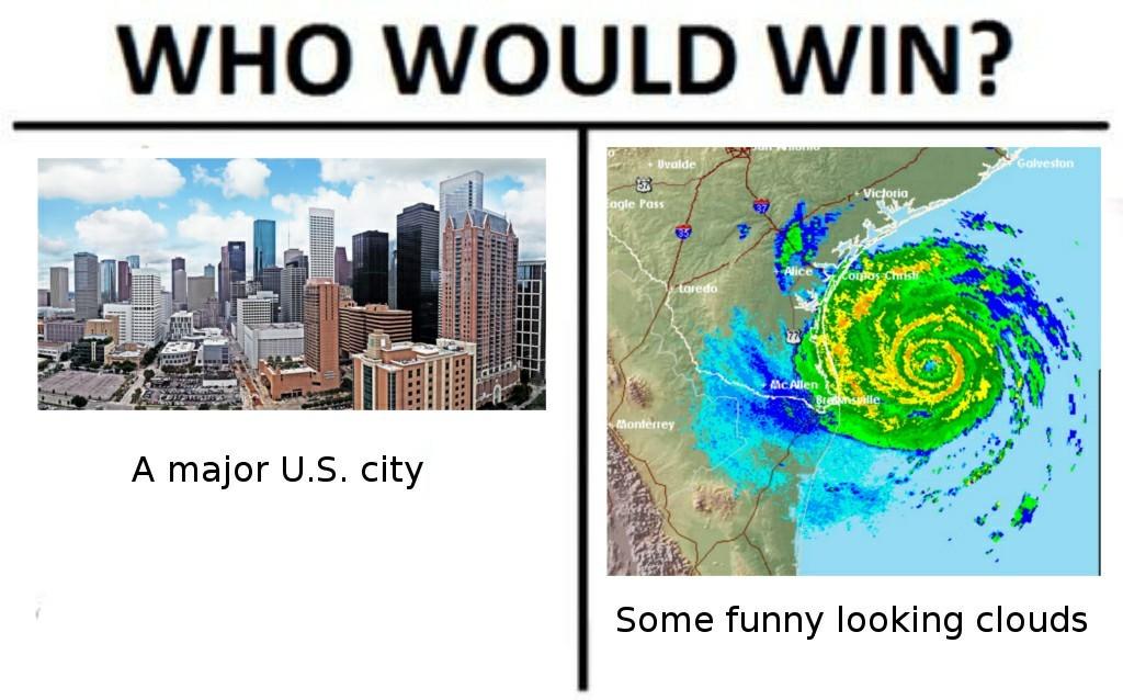 I think they got some rain or something - meme