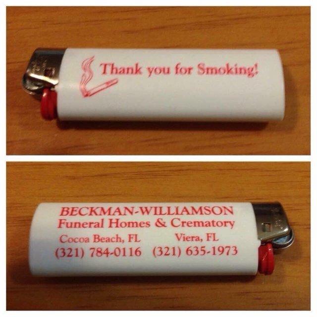 Thank you for smoking! - meme