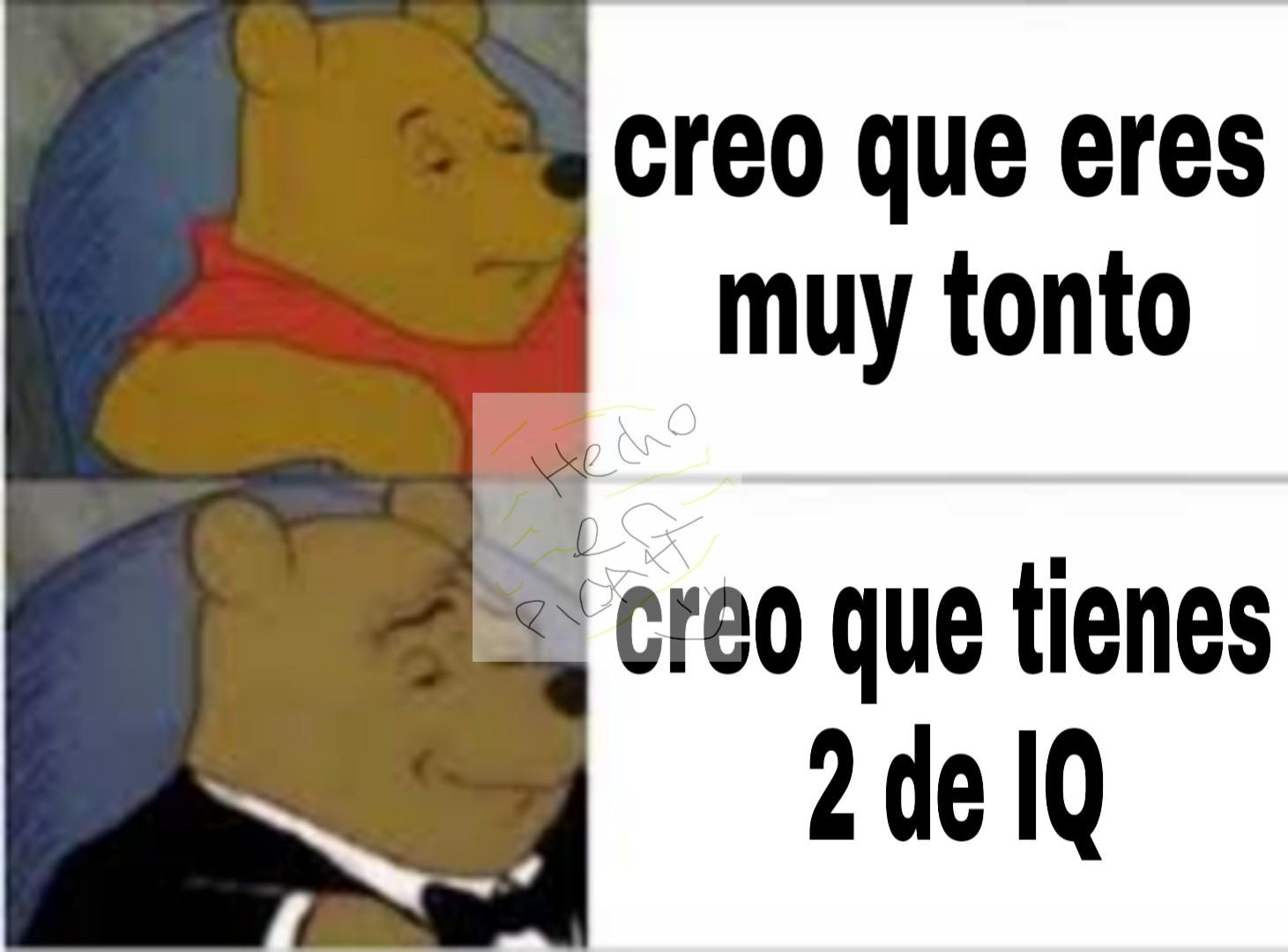 2 DE IQ - meme