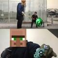 Quelle affaire!!! (Seuls les joueurs de Minecraft pourront comprendre)