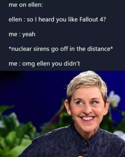 So I heard you like Fallout 4? - meme