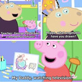 Peppa throwing shade