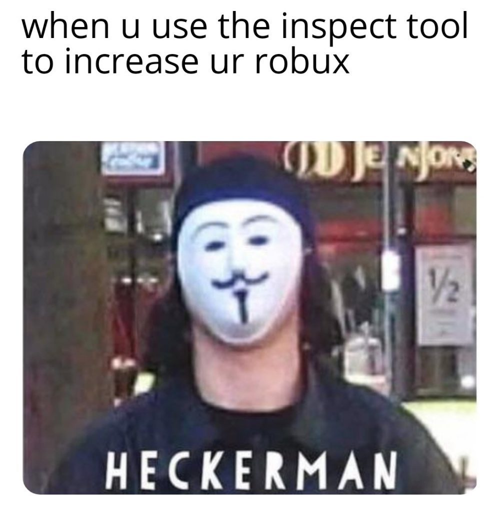 Hacks time man - meme