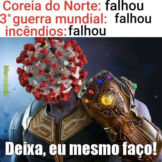 Coronos vírus - meme