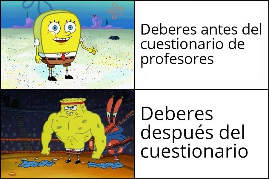 Odio los deberes ಠ︵ಠ - meme