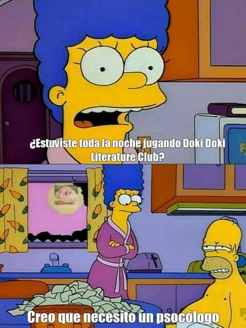 Bah, no quería hacerlo de nuevo(Psicólogo*) PD: Se me ocurrió después de ver la serie que hizo 8cho del juego xD - meme
