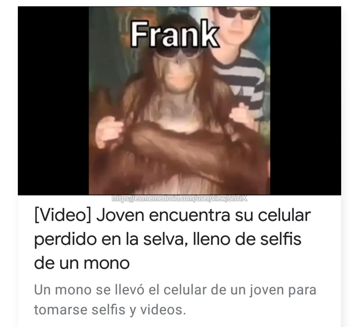 Joder Frank por qué tan guapo - meme