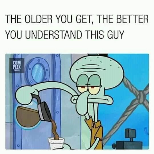 squidward tenpoles - meme
