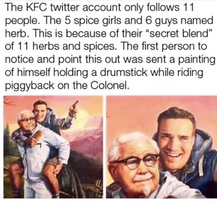 KFC good. - meme