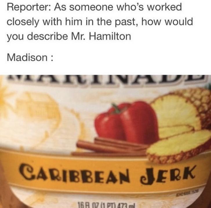 Hamilton - meme