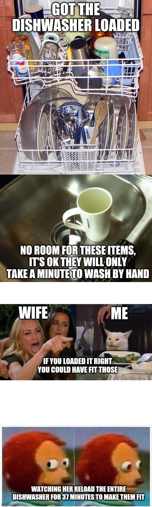 Dishes are done - meme