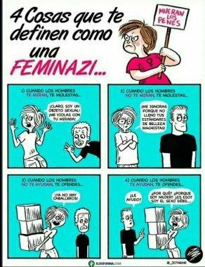 Las feminazis son #teamcap - meme