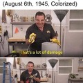 NOW THAT'S A LOT OF DAMAGE