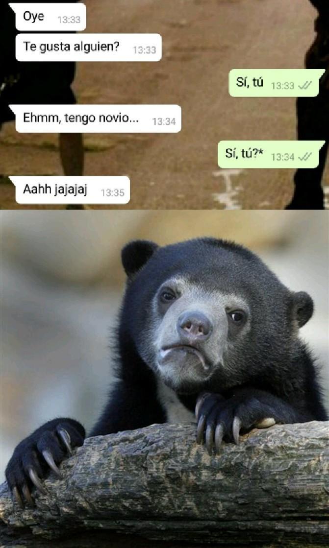 :_( aush! - meme