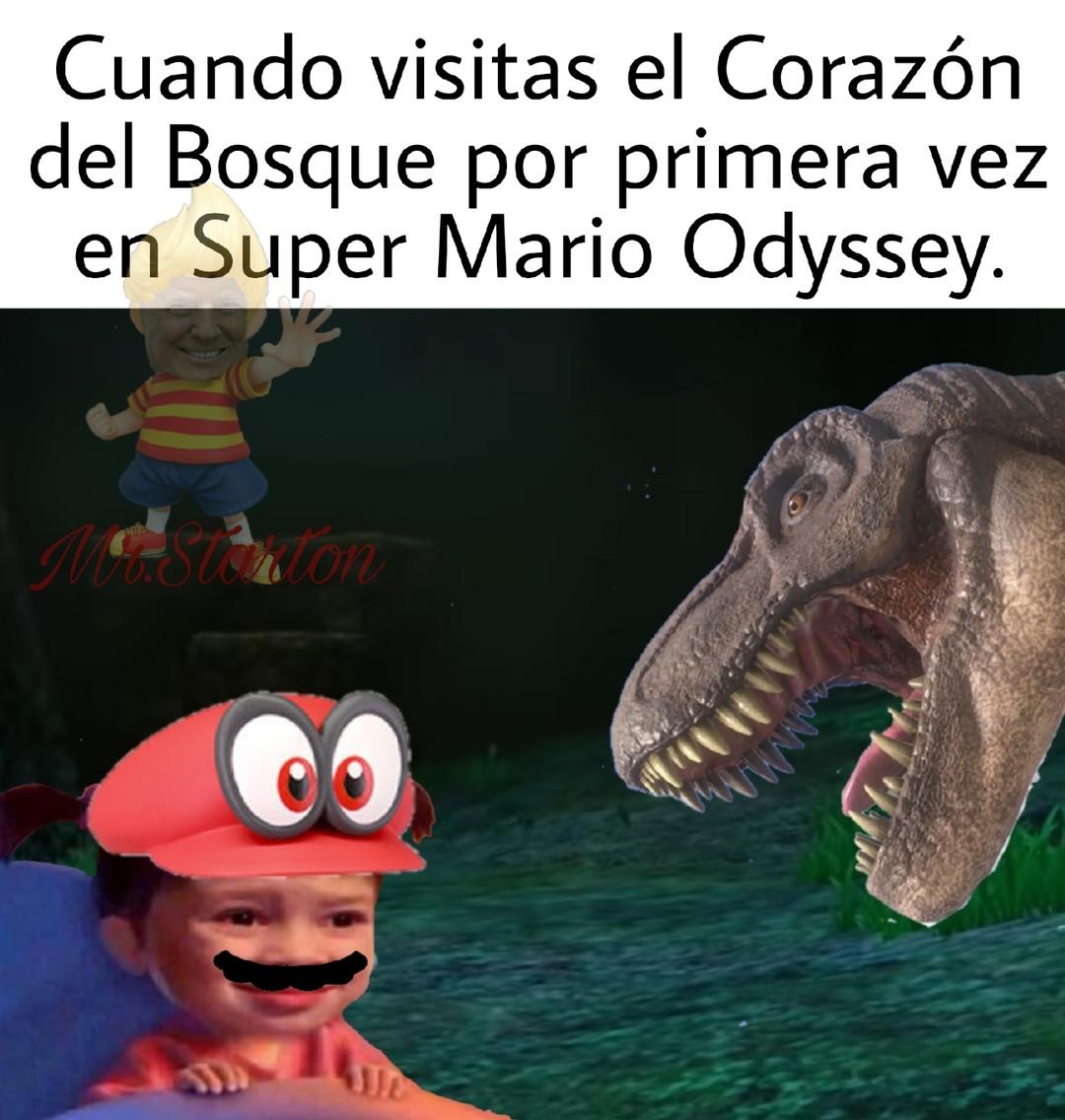 Esos T-Rex me cagaban - meme