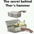 Thor Odin's Son...Pikachu Thor's pet