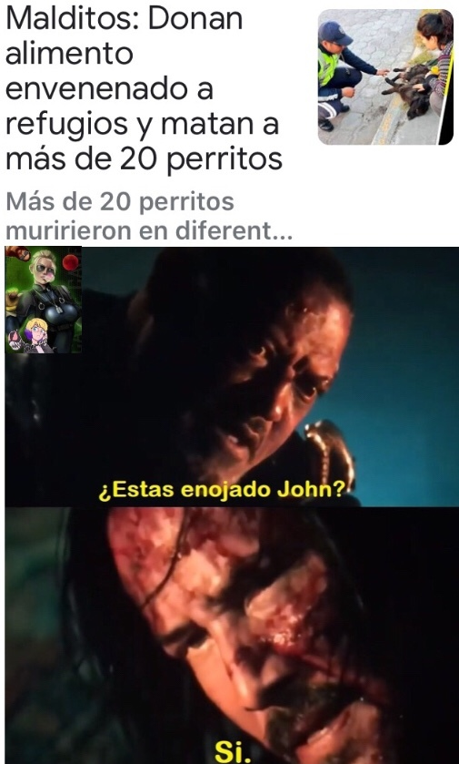 power of john wick intensifics* - meme
