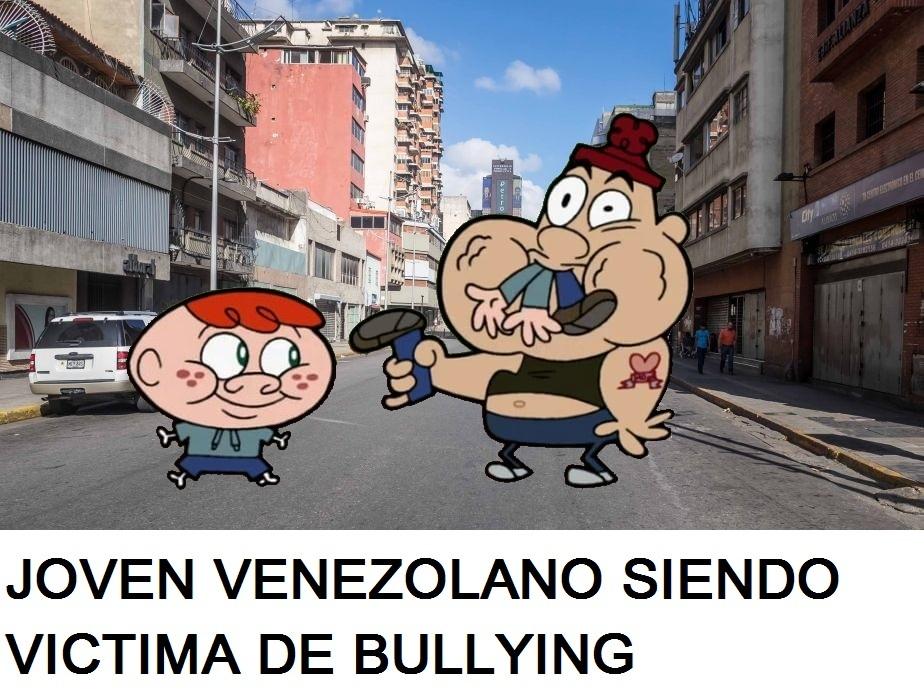 Las calles de pobrezuela y su juventud desenfrenada - meme