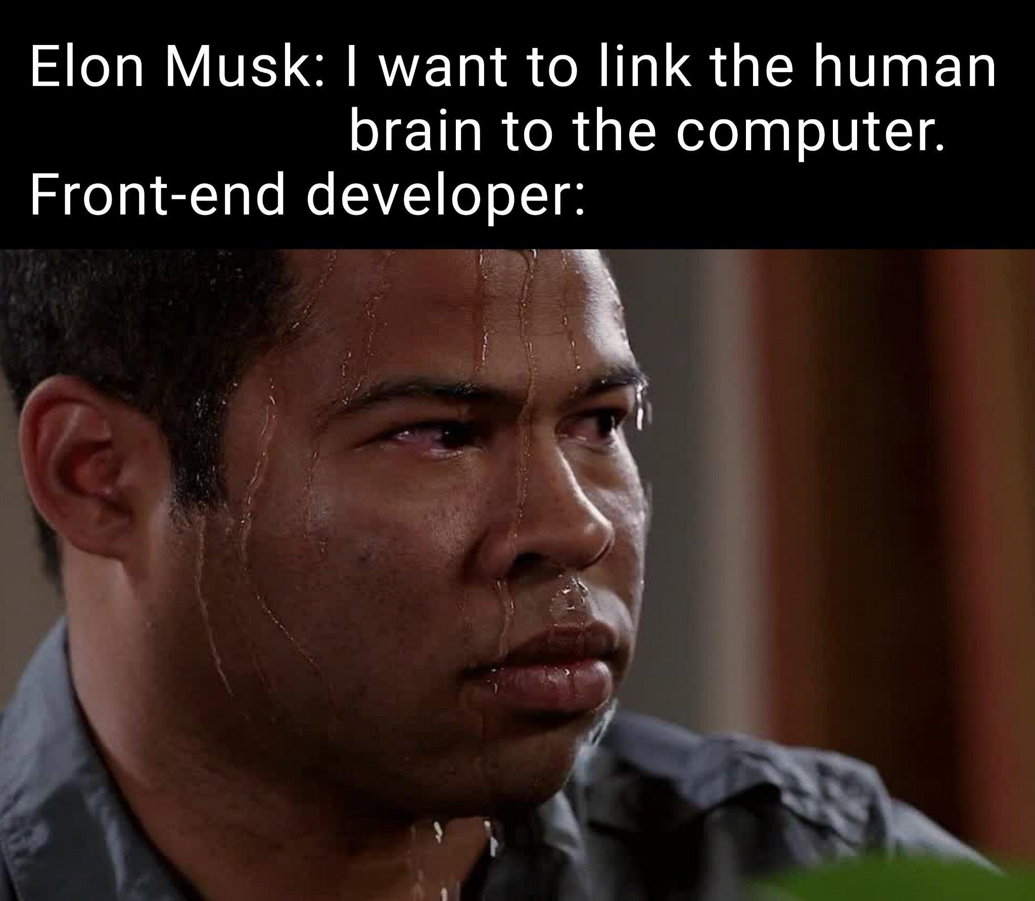 Sweat INTENSIFES                                                                        Elon Musk INTENSIFES TOO - meme