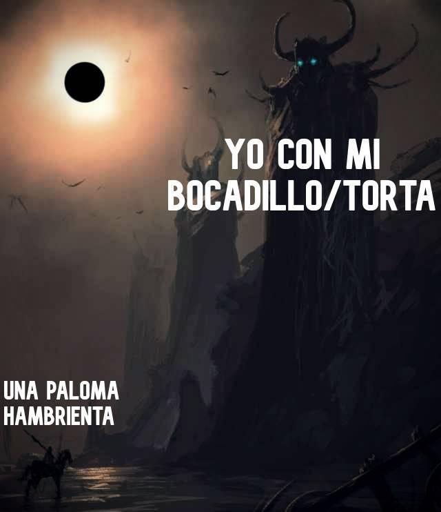 Bocata/Torta (políticamente correcto) - meme