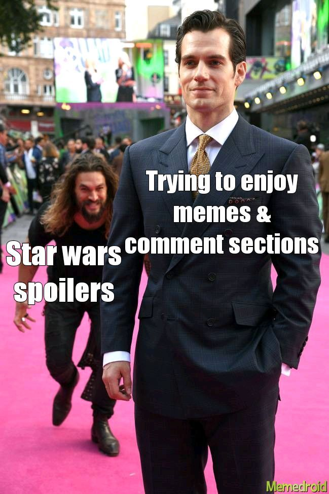 Be careful if you don't want spoilers! - meme