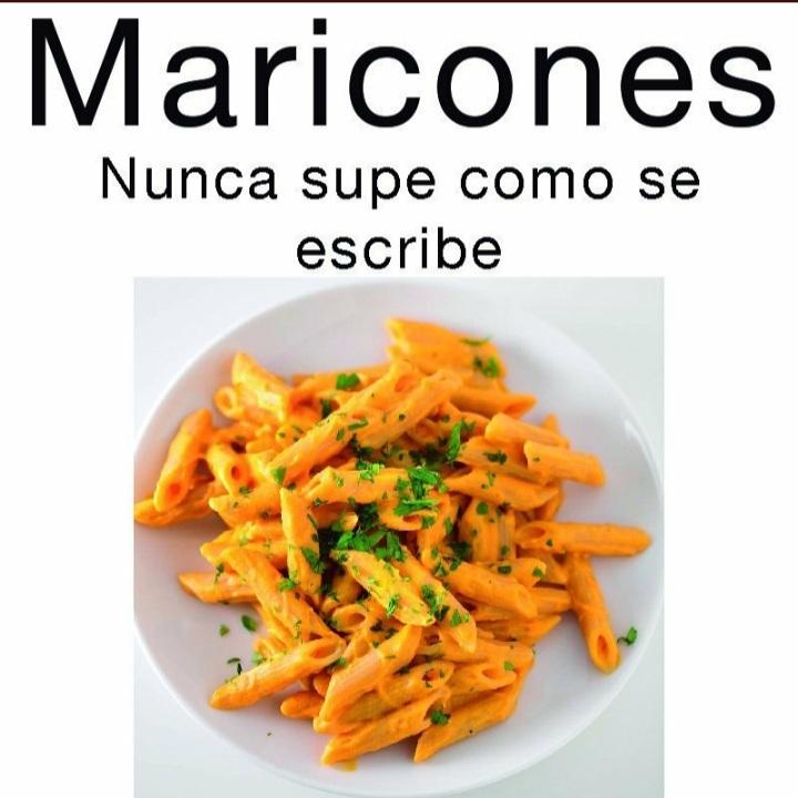 Maricones - meme