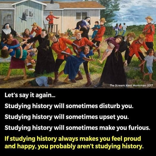 History is important - meme