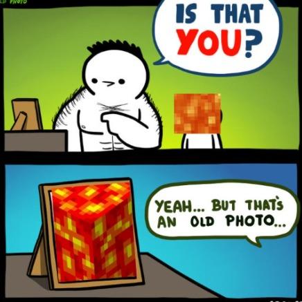 old photo - meme