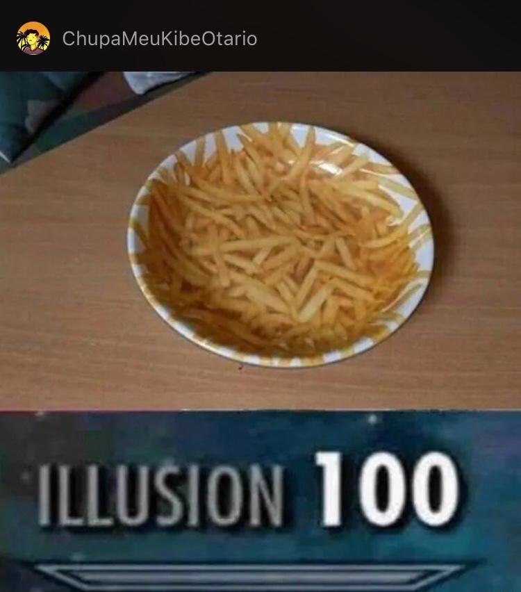 I L U S I O N - meme