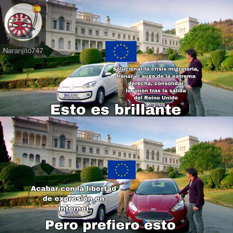 Esta UE - meme