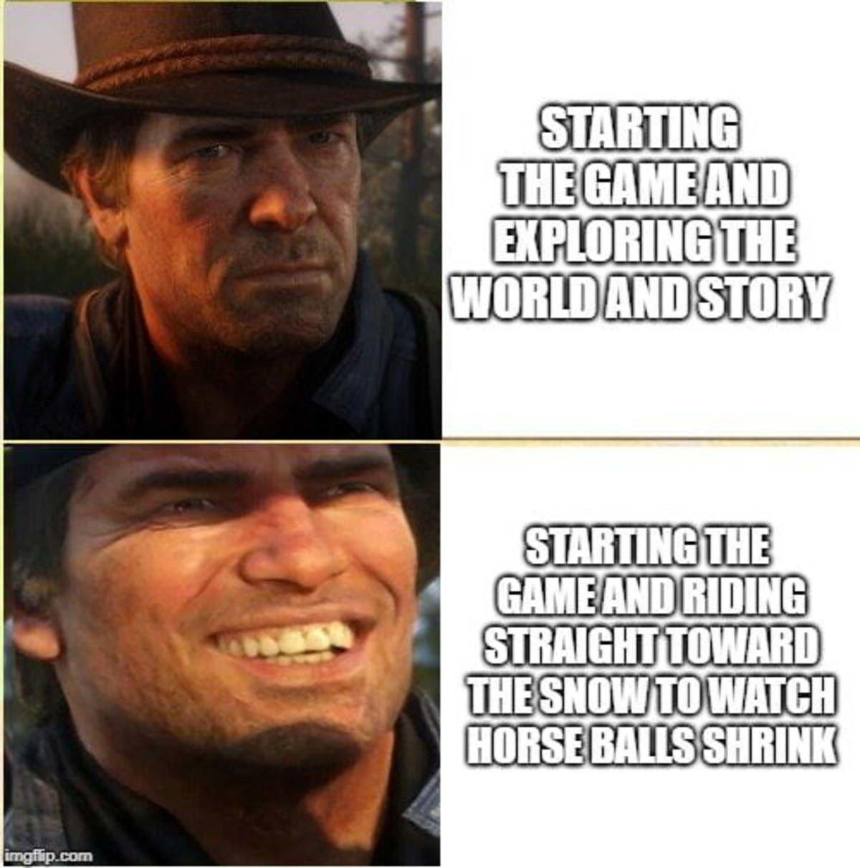 Red dead redemption 2 - meme