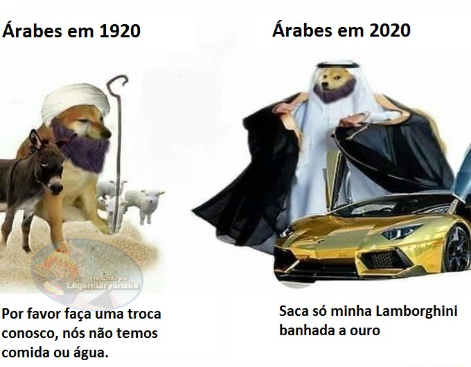Arab money - meme