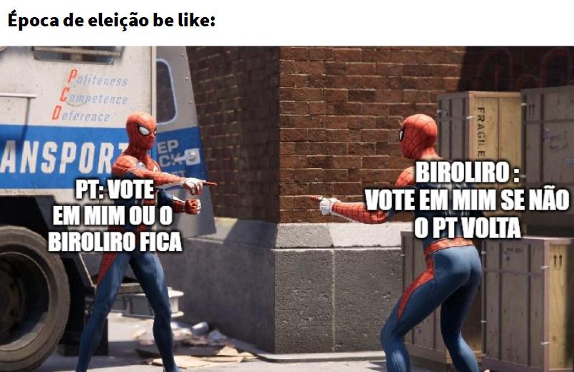 época de eleição municipal sepa tem essas paradas - meme