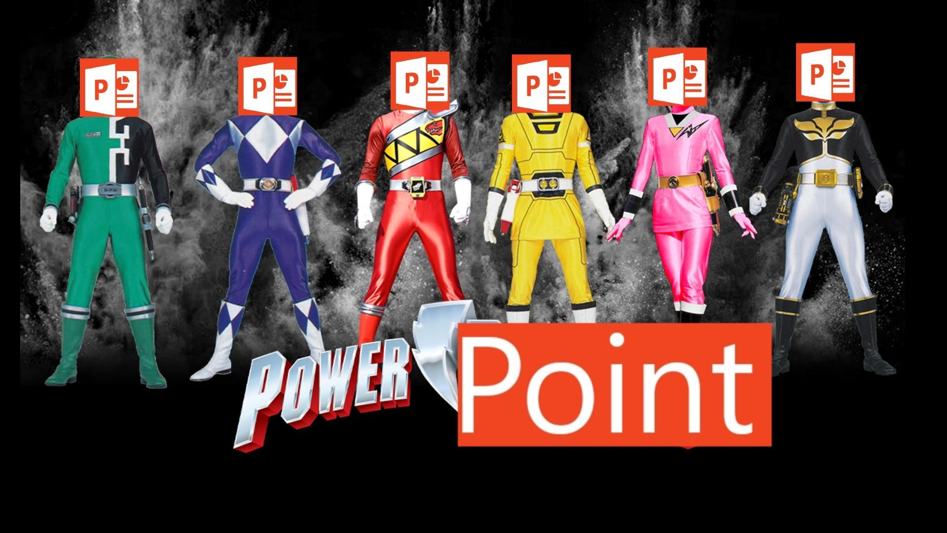 GO GO POWERPOINT!! - meme