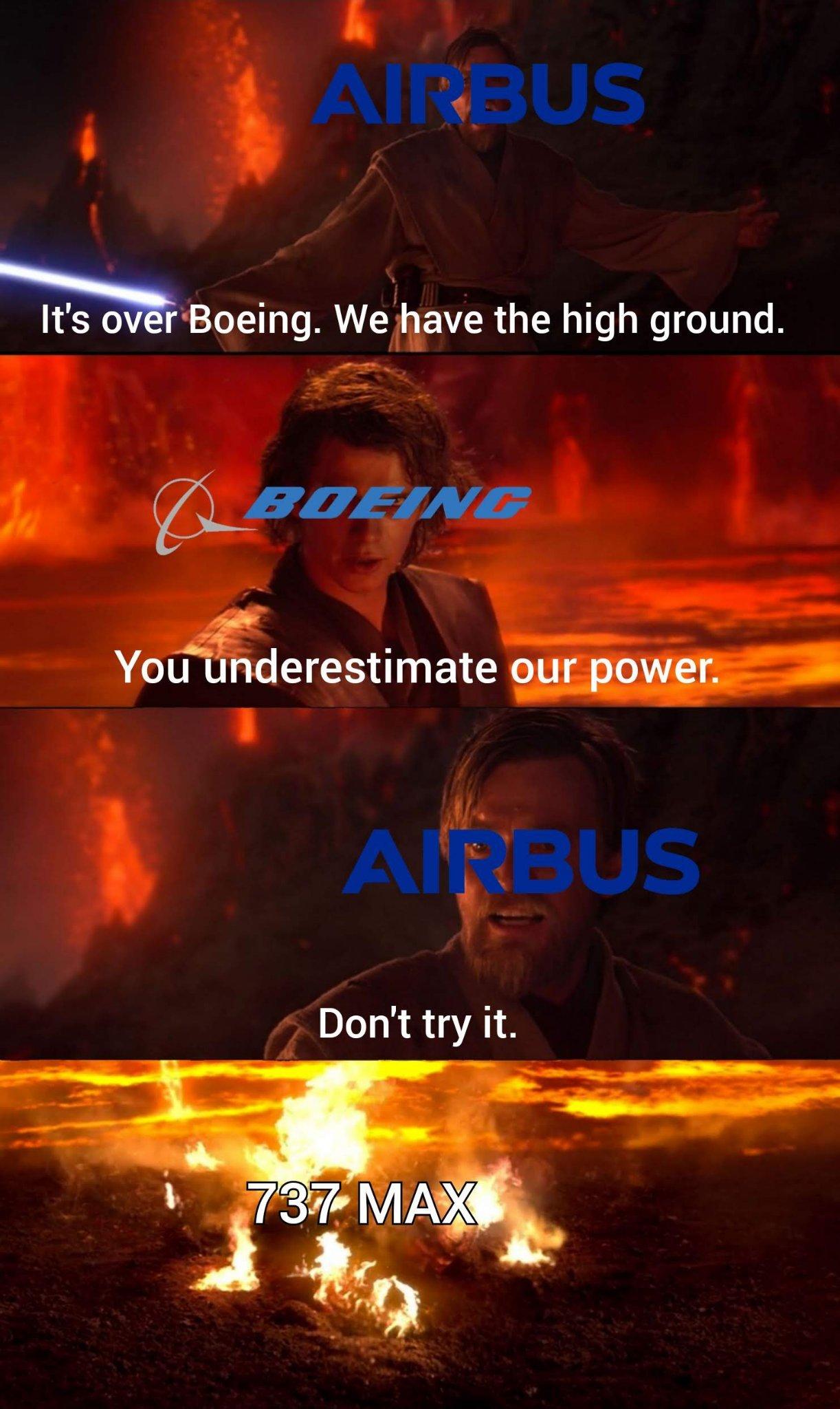 Airbus ftw! - meme