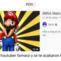 Mario se rasca el culo