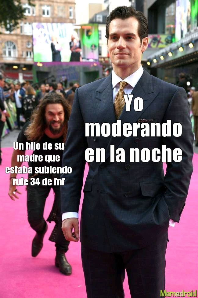 Moderación - meme