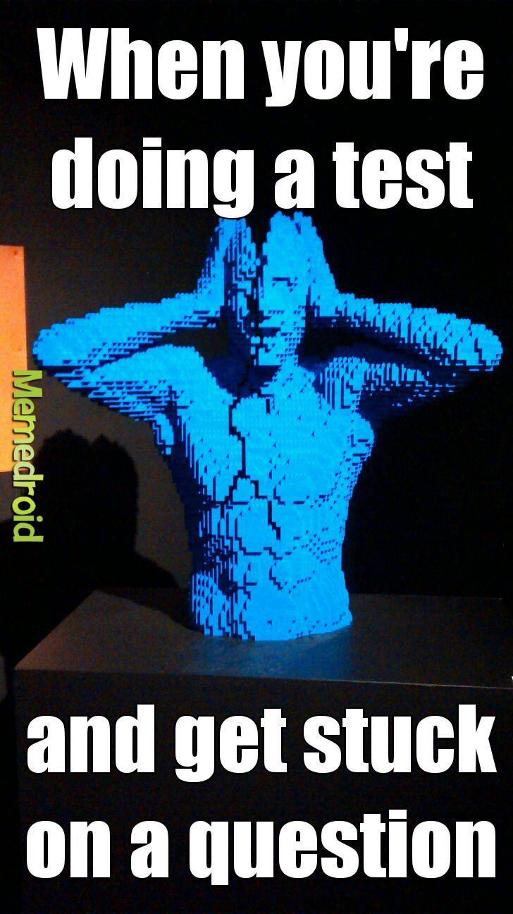 the art of the brick expo - meme