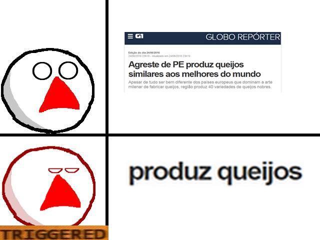 Queijo de MG > PE - meme