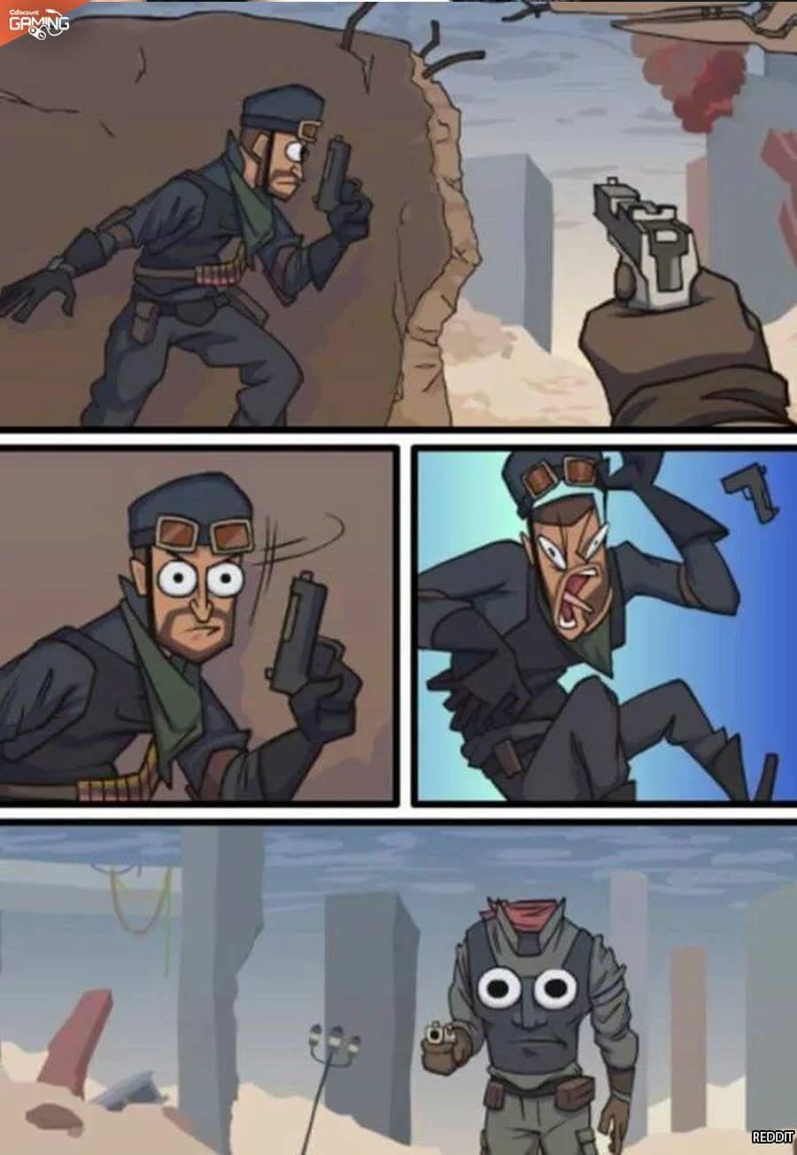 Les jeux à la première personne - meme