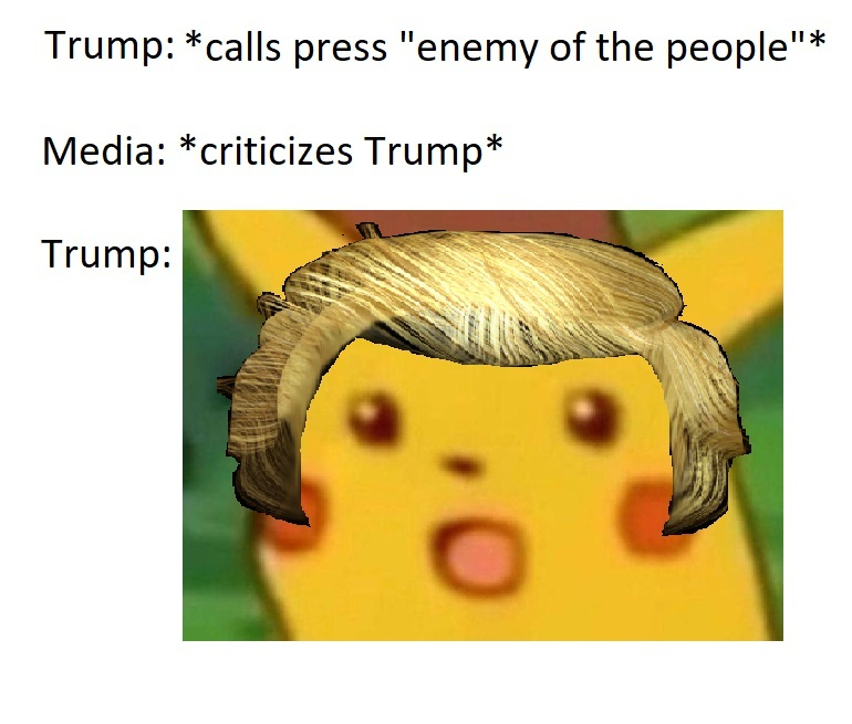 Trump pikachu - meme